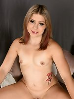 Deanna Young Nude on the Chair