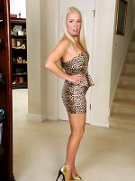 Beth Leopard Dress